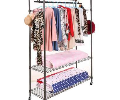 wire shelving garment rack Large Rolling 3-Tier Wire Shelving Clothes Shelf Garment Rack + Side Hooks BTL8 1 of 10FREE Shipping, More Wire Shelving Garment Rack New Large Rolling 3-Tier Wire Shelving Clothes Shelf Garment Rack + Side Hooks BTL8 1 Of 10FREE Shipping, More Images
