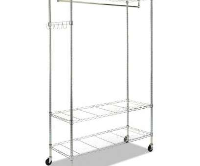 wire shelving garment rack Wire Shelving Garment Rack, Coat Rack, Stand Alone Rack w/Casters, Silver Wire Shelving Garment Rack Professional Wire Shelving Garment Rack, Coat Rack, Stand Alone Rack W/Casters, Silver Galleries