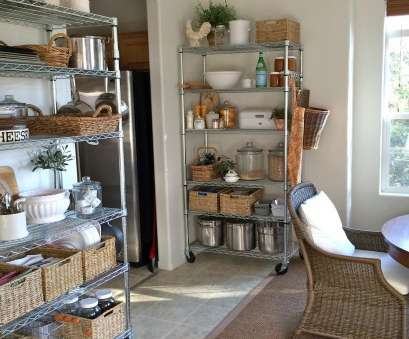 wire shelving kitchen ideas Homestead Revival: No Pantry? No Problem., Cabin, cottage Wire Shelving Kitchen Ideas Most Homestead Revival: No Pantry? No Problem., Cabin, Cottage Ideas