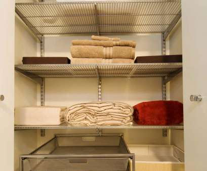 10 Simple Wire Shelving Linen Closet Solutions