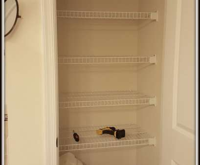 wire shelving linen closet I couldn't, all my things on it because even though this linen closet, only a couple of inches narrower than, last house, I needed another shelf or Wire Shelving Linen Closet New I Couldn'T, All My Things On It Because Even Though This Linen Closet, Only A Couple Of Inches Narrower Than, Last House, I Needed Another Shelf Or Galleries