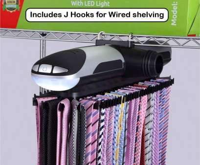 wire shelving tie rack Amazon.com: Primode Motorized, Rack with, Lights, Bonus Stainless Steel, Clip,, Stores Up To 72 Ties with 8 Belts, Rotation Operates With Wire Shelving, Rack Brilliant Amazon.Com: Primode Motorized, Rack With, Lights, Bonus Stainless Steel, Clip,, Stores Up To 72 Ties With 8 Belts, Rotation Operates With Galleries