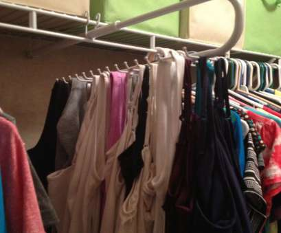 wire shelving tie rack My version of, tank/cami organizer. A slide, tie/belt rack from Lowes, $16. Attaches to wire shelving in minutes Wire Shelving, Rack Professional My Version Of, Tank/Cami Organizer. A Slide, Tie/Belt Rack From Lowes, $16. Attaches To Wire Shelving In Minutes Galleries