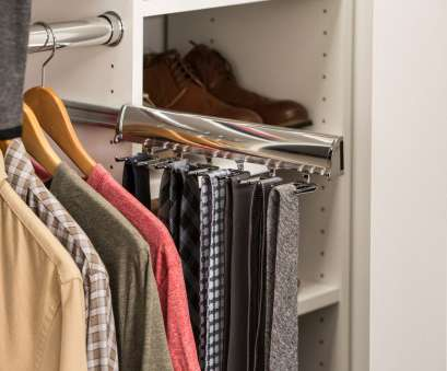 wire shelving tie rack Slide-out, Rack, EasyClosets Wire Shelving, Rack Fantastic Slide-Out, Rack, EasyClosets Images