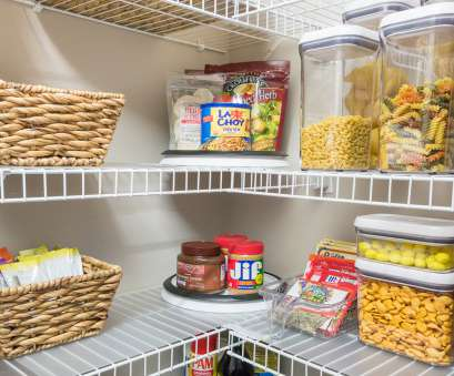 wire shelving storage ideas Nine Ideas to Organize a Small Pantry with Wire Shelving, Kelley Nan Wire Shelving Storage Ideas Practical Nine Ideas To Organize A Small Pantry With Wire Shelving, Kelley Nan Photos