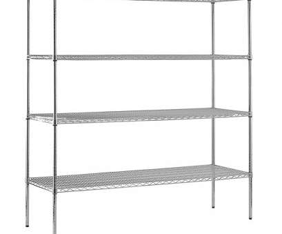 wire shelving unit lowes Shop edsal 74-in, 72-in, 18-in D 4-Shelf Wire, Certified Wire Shelving Unit Lowes Creative Shop Edsal 74-In, 72-In, 18-In D 4-Shelf Wire, Certified Galleries