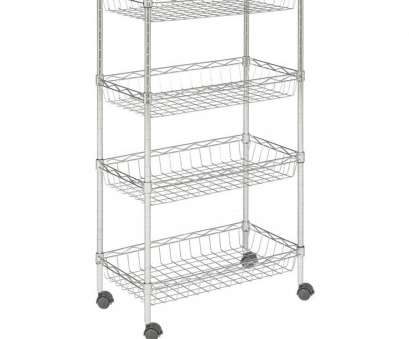 wire shelving unit lowes Shop Safavieh 47.2-in, 23.6-in, 13.8-in D Wire Freestanding Wire Shelving Unit Lowes Professional Shop Safavieh 47.2-In, 23.6-In, 13.8-In D Wire Freestanding Ideas