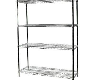 wire shelving unit lowes Shop Storage Concepts 63-in, 60-in, 36-in D 4-Shelf Wire NSF Wire Shelving Unit Lowes Professional Shop Storage Concepts 63-In, 60-In, 36-In D 4-Shelf Wire NSF Solutions