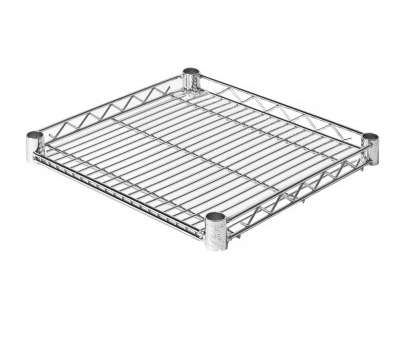 wire shelving unit parts 18-Inch by 18-Inch Chrome Ultra Durable Steel Wire Shelf Wire Shelving Unit Parts Brilliant 18-Inch By 18-Inch Chrome Ultra Durable Steel Wire Shelf Images