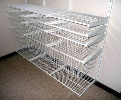 wire shelving units for closets Closet: Remarkable Wire Closet Shelving Design Closetmaid 8 Wire 14 New Wire Shelving Units, Closets Images