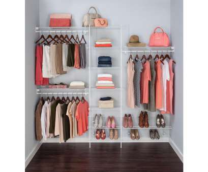wire shelving units for closets White Ventilated Wire home depot closets wire shelving units design Wire Shelving Units, Closets Perfect White Ventilated Wire Home Depot Closets Wire Shelving Units Design Solutions