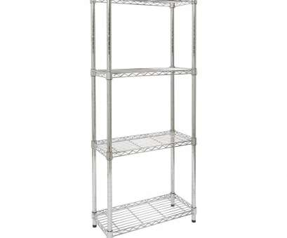 wire shelving units narrow Amazon.com: Storables Chrome 4-Tier Steel Wire Shelving,, D x, W x, H, narrow, depth shelves, small pantry kitchen storage, office Wire Shelving Units Narrow Creative Amazon.Com: Storables Chrome 4-Tier Steel Wire Shelving,, D X, W X, H, Narrow, Depth Shelves, Small Pantry Kitchen Storage, Office Collections