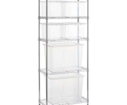 wire shelving units narrow Narrow Chrome Wire Shelving Unit with, 80, 4 x 24 L Storage Boxes Wire Shelving Units Narrow Practical Narrow Chrome Wire Shelving Unit With, 80, 4 X 24 L Storage Boxes Galleries