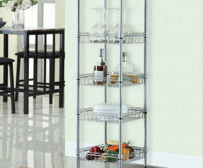 wire shelving with baskets LANGRIA 51.2