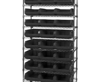 wire shelving with bins ..., Wire Shelving Unit with 24 Magnum Bins, Black is on sale now Wire Shelving With Bins Creative ..., Wire Shelving Unit With 24 Magnum Bins, Black Is On Sale Now Pictures