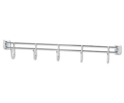wire shelving with hooks Hook Bars, Wire Shelving, Five Hooks,, Deep, Silver, 2 Bars/Pack Wire Shelving With Hooks Creative Hook Bars, Wire Shelving, Five Hooks,, Deep, Silver, 2 Bars/Pack Photos
