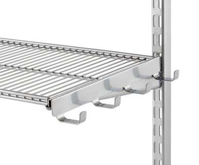 wire shelving with hooks Platinum Elfa Ventilated Wire Shelf Bracket Hooks Wire Shelving With Hooks Simple Platinum Elfa Ventilated Wire Shelf Bracket Hooks Pictures