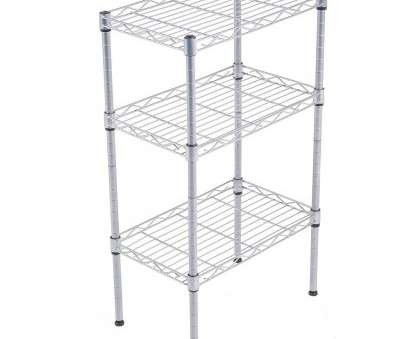 wire shelving with hooks Rebrilliant Alena 3-Tier Wire Shelving Rack with S Hooks, Extra Shelf Line Steel Baker's Rack, Wayfair Wire Shelving With Hooks Perfect Rebrilliant Alena 3-Tier Wire Shelving Rack With S Hooks, Extra Shelf Line Steel Baker'S Rack, Wayfair Photos