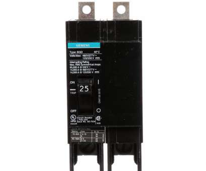 wire size 25 amp Siemens 25, Double-Pole Type QP Circuit Breaker-Q225 -, Home Wire Size 25 Amp Professional Siemens 25, Double-Pole Type QP Circuit Breaker-Q225 -, Home Pictures