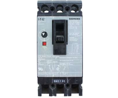 wire size 25 amp SIEMENS, ED63A025 TYPE ED6-ETI 3P 25, MOTOR CIRCUIT INTERRUPTER BREAKER Wire Size 25 Amp Cleaver SIEMENS, ED63A025 TYPE ED6-ETI 3P 25, MOTOR CIRCUIT INTERRUPTER BREAKER Pictures