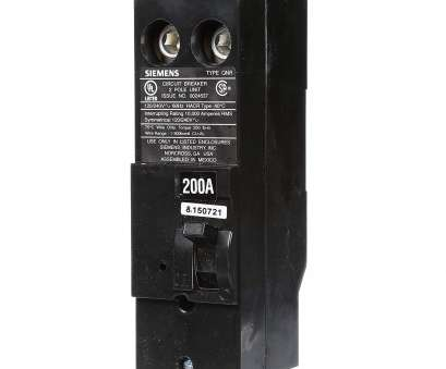 wire size 150 amp service Siemens QN2200R 200-Amp 2 Pole 240-Volt Circuit Breaker, Magnetic Circuit Breakers, Amazon.com 11 Cleaver Wire Size, Amp Service Images