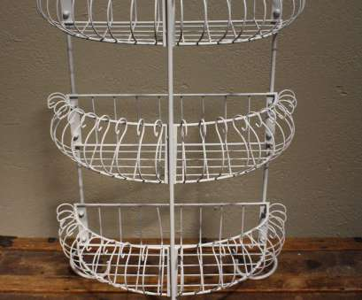 """wire storage basket on stand Metal Wire Shabby Chic Planter Plant Stand Floral Rack Shelf 23"""", Home Wire Storage Basket On Stand Creative Metal Wire Shabby Chic Planter Plant Stand Floral Rack Shelf 23"""", Home Photos"""