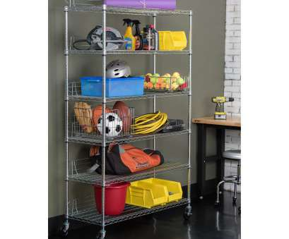 wire storage rack covers Shop TRINITY, 6-tier Chrome Wire Shelving Rack, Free Shipping Today, Overstock.com, 6264851 Wire Storage Rack Covers Cleaver Shop TRINITY, 6-Tier Chrome Wire Shelving Rack, Free Shipping Today, Overstock.Com, 6264851 Pictures