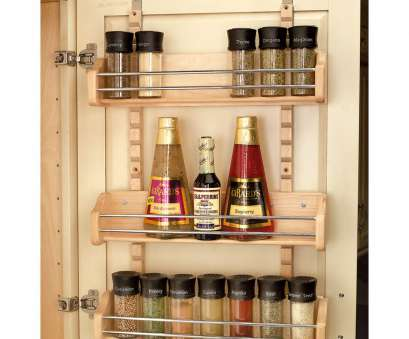 wire storage rack for door Shop Rev-A-Shelf 16.125-in, 25-in-Tier Door/Wall Mount Wood Wire Storage Rack, Door Top Shop Rev-A-Shelf 16.125-In, 25-In-Tier Door/Wall Mount Wood Collections