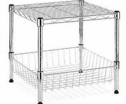 wire storage shelf modular HDX Modular 14.75, x 13.8, Stacking Shelf with Basket Wire Storage Shelf Modular Perfect HDX Modular 14.75, X 13.8, Stacking Shelf With Basket Solutions