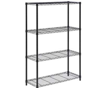 wire storage shelves canadian tire Honey-Can-Do 54, H x 36, W x 14, D 4-Shelf Steel Shelving Unit in Chrome Wire Storage Shelves Canadian Tire Most Honey-Can-Do 54, H X 36, W X 14, D 4-Shelf Steel Shelving Unit In Chrome Collections