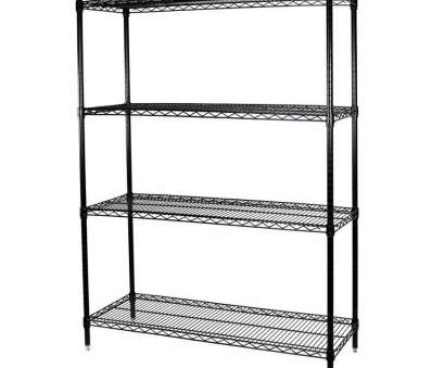 wire storage shelves lowes Shop Storage Concepts 63-in, 36-in, 18-in D Wire 16 Popular Wire Storage Shelves Lowes Galleries