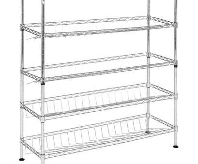 Wire Storage Shelves Lowes Most Shop Safavieh 33.5-In, 29.5-In, 9.8-In D Wire Freestanding Ideas