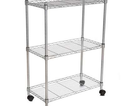 wire storage shelves nz BATHWA 3-Tyre Heavy Duty Shelves Storage Organiser Wire Shelving Unit Rolling Cart Rack with Wheels,Silver by BATHWA, Shop Online, Homeware in New Wire Storage Shelves Nz Cleaver BATHWA 3-Tyre Heavy Duty Shelves Storage Organiser Wire Shelving Unit Rolling Cart Rack With Wheels,Silver By BATHWA, Shop Online, Homeware In New Solutions