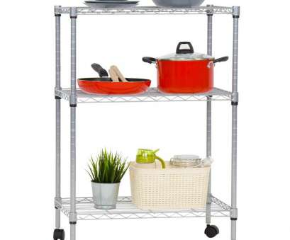 wire storage shelves on wheels Shop, Kinbor 3-Tire Shelving Steel Wire Adjustable Kitchen Garage Storage Shelf, w/Wheels at Wholesale Price on Crov.com Wire Storage Shelves On Wheels Popular Shop, Kinbor 3-Tire Shelving Steel Wire Adjustable Kitchen Garage Storage Shelf, W/Wheels At Wholesale Price On Crov.Com Pictures