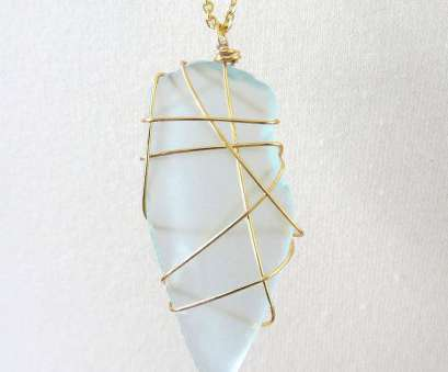 wire wrapped pendant light 14k Gold Wire Wrapped Glass Pendant (light blue), Long Wire Wrapped Pendant Light Best 14K Gold Wire Wrapped Glass Pendant (Light Blue), Long Collections
