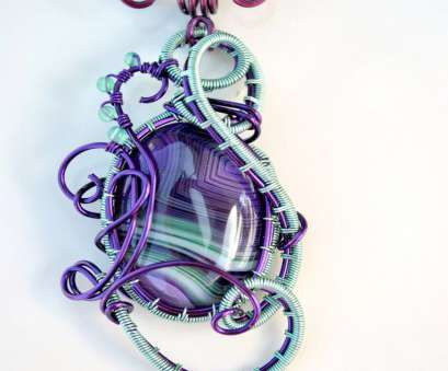 wire wrapped pendant light Purple, light green Agate wire wrapped pendant by IanirasArtifacts Wire Wrapped Pendant Light Perfect Purple, Light Green Agate Wire Wrapped Pendant By IanirasArtifacts Images