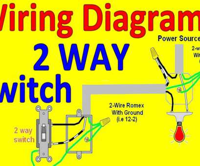 wiring for 2 way switch Electrical Wiring Diagram, Two, Switch Valid Lighted Switch Wiring Diagram, 2, Light Wiring, 2, Switch Fantastic Electrical Wiring Diagram, Two, Switch Valid Lighted Switch Wiring Diagram, 2, Light Galleries