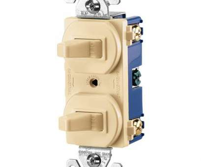 wiring 3-way switch box Eaton Commercial Grade 15, Combination Single Pole Toggle Switch, 3-Way Switch, Ivory Wiring 3-Way Switch Box Popular Eaton Commercial Grade 15, Combination Single Pole Toggle Switch, 3-Way Switch, Ivory Solutions