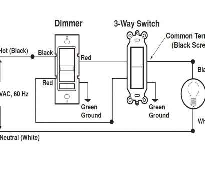 Wiring A Dimmer Switch With 2 Black Wires Creative Leviton Rotary Dimmer Wiring Diagram 2 Black Wires Within, A Switch Ideas