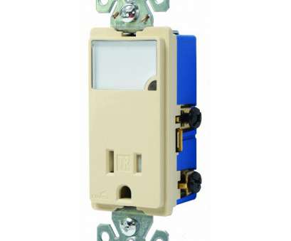 wiring a double switch box Eaton 3-Wire Receptacle Combo Nightlight with Double-Pole Tamper Resistant, Ivory Wiring A Double Switch Box Professional Eaton 3-Wire Receptacle Combo Nightlight With Double-Pole Tamper Resistant, Ivory Ideas