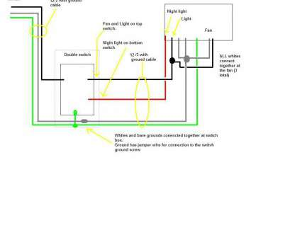 wiring a double switch box wiring diagram, double switch a throughout  wiring a double switch