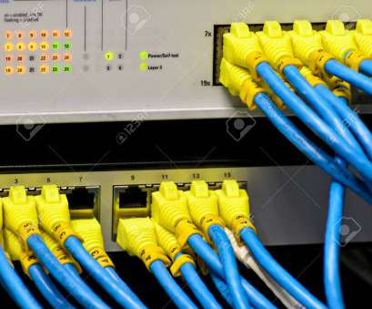 wiring a ethernet switch Ethernet switch isolated, router connect, colorful Stock Photo, 23832175 19 Best Wiring A Ethernet Switch Collections