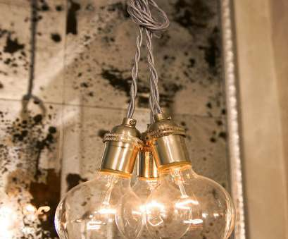 wiring a hanging light fixture Oh,, we loosely looped, wires into a knot to bunch them together,, you could also, creative with hanging your pendants at different heights: 13 Professional Wiring A Hanging Light Fixture Galleries