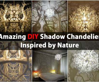wiring a homemade light fixture Amazing, Shadow Chandelier Inspired by Nature -, & Crafts Wiring A Homemade Light Fixture Cleaver Amazing, Shadow Chandelier Inspired By Nature -, & Crafts Images