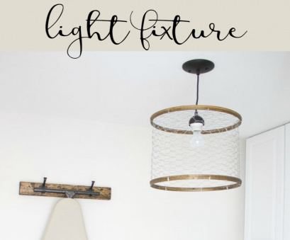 wiring a homemade light fixture How to make a rustic laundry room light fixture, of chicken wire Wiring A Homemade Light Fixture Simple How To Make A Rustic Laundry Room Light Fixture, Of Chicken Wire Collections