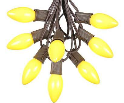 wiring a light fixture brown wire Picture of C9 25 Light String, with Ceramic Yellow Bulbs on Brown Wire Wiring A Light Fixture Brown Wire Professional Picture Of C9 25 Light String, With Ceramic Yellow Bulbs On Brown Wire Galleries
