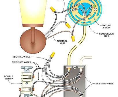 wiring a light fixture diagram Wiring Diagram, Ceiling, Light Fixture, With, online-shop.me 9 Perfect Wiring A Light Fixture Diagram Galleries