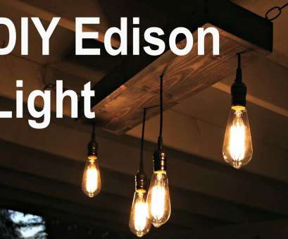wiring a light fixture with multiple bulbs DIY Hanging Edison Light Wiring A Light Fixture With Multiple Bulbs Simple DIY Hanging Edison Light Ideas