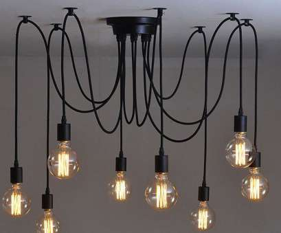 wiring a light fixture with multiple bulbs Lightess Vintage Multiple Adjustable, Ceiling Spider Pendant Lighting Chandelier, Heads), Amazon.com Wiring A Light Fixture With Multiple Bulbs Cleaver Lightess Vintage Multiple Adjustable, Ceiling Spider Pendant Lighting Chandelier, Heads), Amazon.Com Images