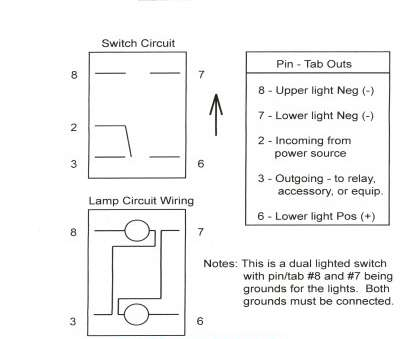 Wiring A Lighted Switch 12V Perfect 7, Rocker Switch Wiring ... on
